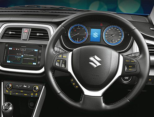 Maruti Suzuki S Cross Interior Www Imgkid Com The
