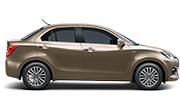 Maruti Dzire Sherwood Brown
