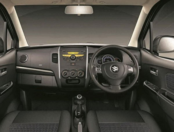 maruti suzuki wagon r interior. Black Bedroom Furniture Sets. Home Design Ideas