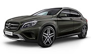Mercedes Benz GLA-Class Mountain Grey
