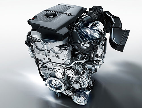 Mercedes Benz GLA Class Engine