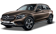 Mercedes Benz GLC Citrine Brown