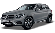 Mercedes Benz GLC Iridium Silver