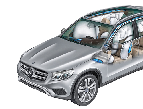 Mercedes Benz GLC Safety