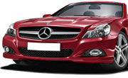 Mercedes Benz SL Class Thulite Red