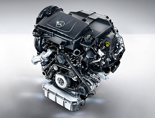 Mercedes-Benz V-Class Engine