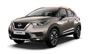 Nissan kick Bronze Grey with Amber