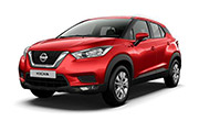 Nissan kick Fire Red