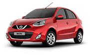 Nissan Micra Brick Red