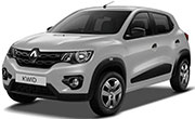 Renault Kwid Moonlight Silver