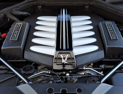 Rolls Royce Ghost Engine
