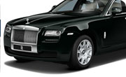 Rolls Royce Ghost Black Green