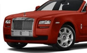 Rolls Royce Ghost Ensign Red