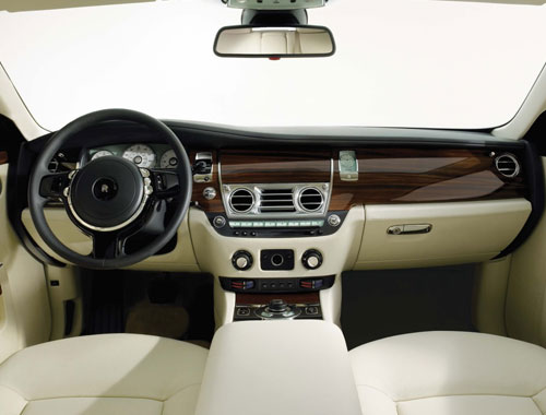 Rolls Royce Ghost Interior