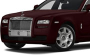 Rolls Royce Ghost Madeira Red