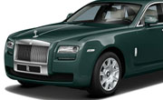 Rolls Royce Ghost Sea Green