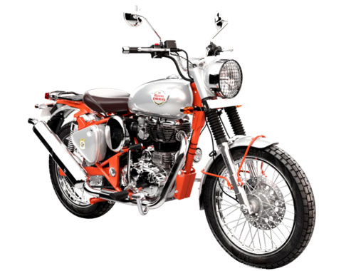 Royal Enfield Bullet Trails 350 Appearance