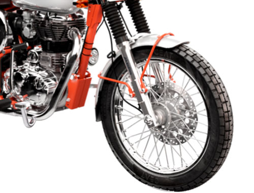 Royal Enfield Bullet Trails 350 Safety