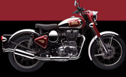 Royal Enfield Classic Chrome Maroon