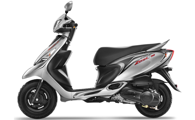 apache 160 coloring pages | TVS Scooty Zest Model: Power, Mileage, Safety, Colors ...