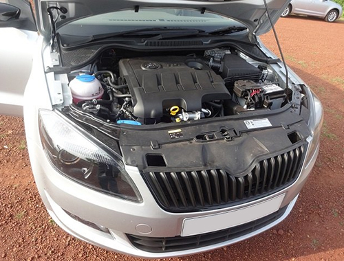 Skoda Rapid Facelift Engine