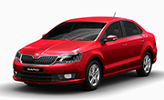 Skoda Rapid Flash Red