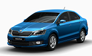 Skoda Rapid Silk Blue
