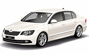 Skoda Superb Candy White