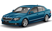 Skoda Superb Lava Blue