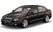 Skoda Superb Magnetic Brown