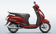 New Access 125 Candy Sonoma Red