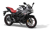 Suzuki Gixxer SF Special Edition Matt Fibroin Grey