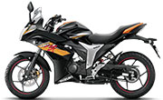 Suzuki Gixxer SF SP Black and Gold