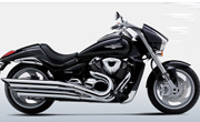 Suzuki Intruder M1800R Glass Sparkle Black