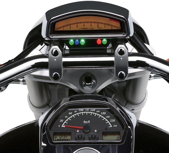 Suzuki Intruder Technology