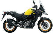 Suzuki V Storm 650XT Champion Yellow