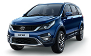 Tata Hexa Arizona Blue
