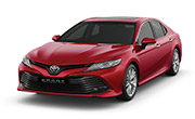 Toyota Camry Red Mica Metallic
