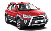 Toyota Etios Cross Vermilion Red