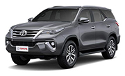 Toyota Fortuner Grey Metallic