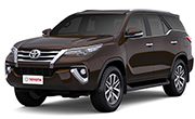 Toyota Fortuner Phantom Brown