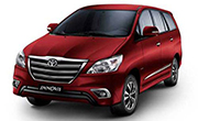 Toyota Innova Dark Red Mica Metallic