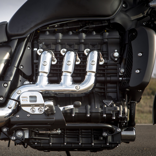 Triumph Rocket III Roadster Engine