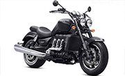 Triumph Rocket III Roadster Matt Phantom Black