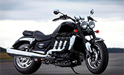 Triumph Rocket III Roadster Phantom Black