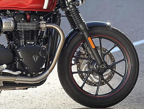 Triumph Street Twin Safety