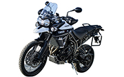 Triumph Tiger 800 XCA Crystal White