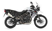 Triumph Tiger 800 XCx Crystal White