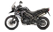 Triumph Tiger 800 XCx Phantom Black