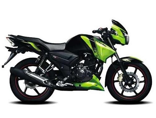 TVS  Apache RTR 160 Appearance